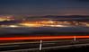Car lights (zbyhru) Tags: night fog mist inversion winter moravia morava slovácko long exposure