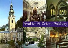 postcard - Tremotina, Germany 4 (Jassy-50) Tags: postcard postcrossing salzburg austria stpetersarchabbey stpetersabbey abbey church multiview unescoworldheritagesite unescoworldheritage unesco worldheritagesite worldheritage whs