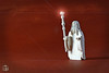 Gandalf the white (moctown) Tags: lego minifigures stretch upscale wizard lordoftherings thehobbit