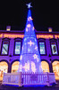 Guernsey's Market Square Christmas tree.   Wishing you all a merry  Christmas and a happy New year and Thank you for your support in 2017 (Ian Toms) Tags: marketsquare channelislands christmas christmaslights evening guernsey guernseylife guernseystyle locateguernsey longexposure nightshot town visitguernsey winter xmas