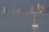 Mersey Fog (das boot 160) Tags: fog merseyfog river rivermersey boats boat liverpool birkenhead mersey merseyshipping maritime