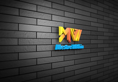 3D-Wall-Logo-MockUpms (shopbd) Tags: logodesign classic effect indieground insignia label mockup presentation retro style text type typography