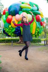 横浜・みなとみらいポートレート (hobby_blog) Tags: ポートレート ポトレ 横浜 みなとみらい 赤レンガ倉庫街 イルミネーション portrait photo