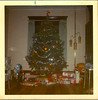 1972 ish Christmas Tree (rumimume) Tags: potd rumimume niagara ontario canada photo paper print scan filmchristmas december25 holiday celebration 19070 family kids tree horse toy gifts garland past