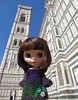 BaD Dec 29 - Cathedral (lyndell23) Tags: audrey blythedoll blytheaday photochallenge florenceitaly firenze