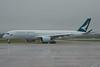 B-LRF Cathay Pacific Airbus A350 EGCC 23/12/17 (David K- IOM Pics) Tags: egcc manchester airport ringway man terminal 3 terminal3 cx cpa cathay pacific airlines airbus a350 a359 blrf