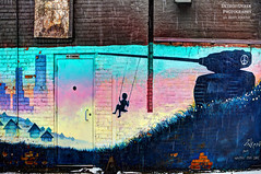 New Years Day (DetroitDerek Photography ( ALL RIGHTS RESERVED )) Tags: allrightsreserved 313 detroit detroitderek urban downtown mural graffiti art december 2017 newyearsday newyearseve hope peace canon 5d mkii digital easternmarket ronzarkin tank alley brick wall painted maybesomeday city michigan midwest usa america motown motorcity hdr 3exp snowstorm winter