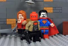 Dark Trinity (Metarix (MrKjito)) Tags: lego superhero minifig red hood outlaws dc rebirth universe comics comic bizarro artemis dark trinity