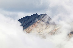 Clouds and stripes (RPahre) Tags: mountain clouds porphyry porphyrymountain wrangellmountains alaska wrangellsteliasnationalparkandpreserve wrangellstelias copyrighted robertpahrephotography donotusewithoutpermission
