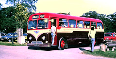Slide 112-51 (Steve Guess) Tags: woburn beds bedfordshire england gb uk bus rally show gathering felix reliance aec 9629wu