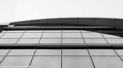 Details of the Audi Forum. (andreasheinrich) Tags: architecture windows sky winter december afternoon audiag audiforum blackandwhite blackandwhitephotos gloomy cold germany badenwürttemberg neckarsulm deutschland architektur fenster himmel dezember nachmittag schwarzweis trüb kalt nikond7000