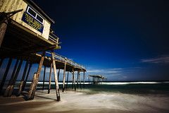 Cape Hatteras Fishing Pier [06.16.17] (Andrew H Wagner | AHWagner Photo) Tags: 5dmk3 5d3 5dmkiii 5dmarkiii 5dmark3 canon eos 1635l 1635mm f4 f4l is usm ultrawideangle wideangle summer water atlantic ocean outdoors explore exploration exploring longexposure northcarolina nc obx outerbanks salvo salvonorthcarolina salvonc vacation beach beaches leadinglines fishingpier pier abandoned forgotten capehatteras hatteras
