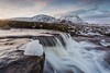 The Cauldron and Creise (Chris_Hoskins) Tags: wwwexpressionsofscotlandcom scottishlandscapephotography scotland winter glencoe scottishlandscape ice landscape cauldron waterfall scottishwinter creise