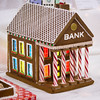 candy bank (raspberrytart) Tags: festivaloftrees christmas gingerbread gingerbreadhouse gingerbreadcookie cookie candy decorating nikon d7100