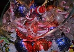X-Mas Candy (Mauerkind Berlin) Tags: weihnachten süsses süsigkeiten schokolade folie