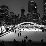 Toronto winter night thumbnail