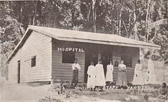 Staff at Yarrabah Mission Hospital, Qld - circa  1908 (Aussie~mobs) Tags: vintage queensland australia yarrabah hospital staff aborigines natives indigenous aussiemobs