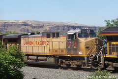East Manifest (youngwarrior) Tags: train up unionpacific railroad manifest biggs oregon ac44cw ge generalelectric locomotive