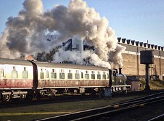 Great Central Railway Loughborough Leicestershire 28th December 2017 (loose_grip_99) Tags: great central railway railroad rail train loughborough leicestershire steam engine locomotive eastmidlands england uk gassteam uksteam preservation transportation trains railways lms fowler 3f 060t tank 47406 jinty jocko december 2017