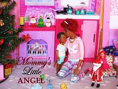 Mommy's Little Angel (flores272) Tags: fabfringe aabarbie aafashionista aadoll aaboychelsea barbiefashionistas barbieclothing barbiefurniture arieldoll santa christmas barbiewinterfamilybuildup barbiewintercabin barbielifeinthedreamhousewinterfamilybuildupplayset barbielifeinthedreamhouse barbiehouse boychelsea doll dolls toy toys