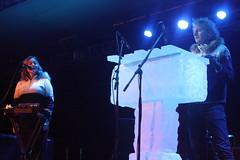 Ice Music (2017) 01 - Terje Isungset & Maria Skranes (KM's Live Music shots) Tags: jazz norway icemusic terjeisungset mariaskranes iceofon iceinstrument fridaytonic nordicmatters winterfestival southbankcentre