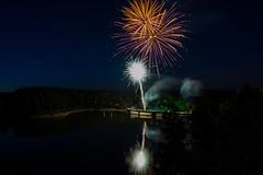 Happy 2018!!! <3 (Harry Pammer (temporarily off)) Tags: stausee ottenstein feuerwerk sommer firework summer austria österreich 2017 2018 3