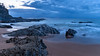 Rocky Dawn Seascape (Merrillie) Tags: daybreak landscape nature dawn mountains rocks eurobodallashire maluabay newsouthwales sea water sun batemansbay beach ocean nsw australia waterscape coastal island scenery seascape sunrise coast southcoast clouds