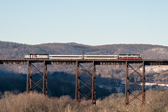 Slightly Overpowered (Nick Gagliardi) Tags: train trains railroad nj transit new jersey njt emd diesel electromotive division gp40ph2 gp40fh2 mncw metronorth metro north west hudson port jervis moodna viaduct erie southern tier
