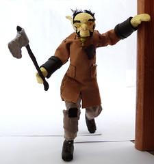 Norroz the goblin lumberjack (Cѳpnfl) Tags: norroz goblin gobelin fantasy figure figurine lumberjack bûcheron hache axe