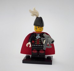 Her Majesty's Vice-Admiral (Robert4168/Garmadon) Tags: lego minifigure brethrenofthebrickseas pirates corrington red admiral