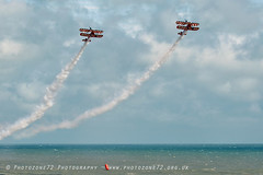 3401 Wingwalkers (photozone72) Tags: eastbourne airshows aircraft airshow aviation canon canon7dmk2 canon100400f4556lii 7dmk2 wingwalkers breitlingwingwalkers breitling stearman biplane
