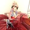 Christmas ballerina 2 (gingercookee) Tags: portrait secondlife virtualworld christmas fantasy doll advent gatcha windlight