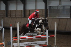 IMG_2641 (Bas & Emily) Tags: paard paarden horse horses horsejumping jump jumping showjumping kerst kerstspringen christmas costume ruiter amazone