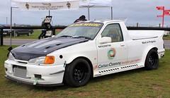 J436 KKO (1) (Nivek.Old.Gold) Tags: 1991 ford sierra 18 glx pickup bbotting carboncleaning