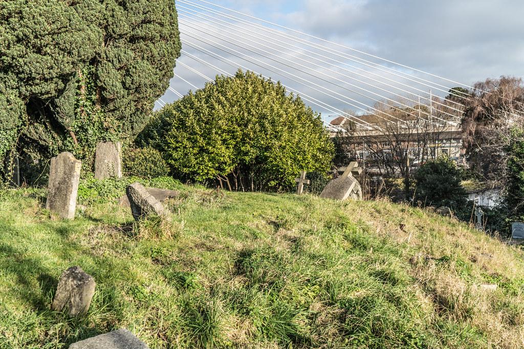 THE WILLIAM DARGAN BRIDGE IN DUNDRUM [LUAS GREEN LINE TRAM STOP DUNDRUM]-135143