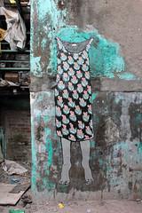 BOMBAY DHARAVI 11.2017 (Ella & Pitr) Tags: ellapitr anamorphosis art landart oeuvre india street mumbai bombay sassoon dock inde mural wall ella pitr fish indian
