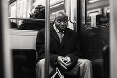 Metro (krystinemoessner) Tags: people gens personne street photo de rue streetphoto metro paris monochrome noir et blanc sw bw krystine moessner taek