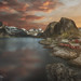 Sunset in Reine