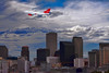 """Virgin Airlines Over New Orleans (crimsontideguy-from """"Sweet Home Alabama"""" USA) Tags: planes clouds sky neworleans louisiana virginairlines cityscapes city skyline cloudsandsky photoshop nikon buildings layers textures usa america"""