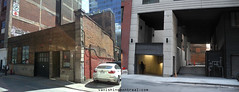 Before / After : St-Henri street (Vanishing Montréal) Tags: history villedemontreal montreal histoire photography art architecture demolition disappearinghistory newconstruction