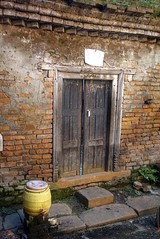 Door to the other side (posterboy2007) Tags: bhaktapur nepal door brick wall sony