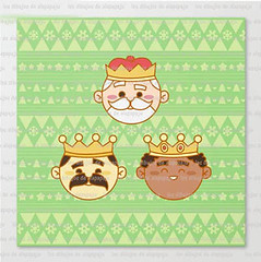three wisemen (los dibujos de Alapapajú) Tags: illustration alapapaju nadal christmas xmas kid child children design navidad cartoon wisemen reyesmagos