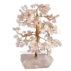 Rose Quartz Tree Feng Shui Online | VedicVaani.com (vedicvaani.com) Tags: rose tree fengshui quartz online gemstone wishing