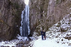 Alla Cascata del Lupo (STE) Tags: cascata del lupo piazze tn trentino baselga di pinè inverno winter freddo cold fuji sony rx100m4 sebastiana neve snow
