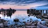 The abandoned pier, Prescott, Ontario (jaros 2(Ron)) Tags: prescott prescottontario pier prescottpier stlawrenceseaway stlawrenceriver canada ontario nikond800 ndgrad formatthitech