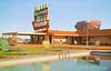 Hacienda Motel, Yuma, Arizona (Thomas Hawk) Tags: america arizona haciendamotel usa unitedstates unitedstatesofamerica vintage yuma motel neon neonsign pool postcard swimmingpool fav10 fav25