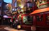 Temple Bar, Dublin (KaylaKandzorra) Tags: templebar dublin ireland guinness jameson bar pub red street christmas europe people tourism night nightlife drinks sign kaylakandzorra lightroom adobe canon thetemplebar city citylife gaelic