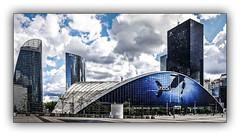 Série La Défense: n° 31 (Jean-Louis DUMAS) Tags: architecture art artist artiste artistic architect architecte building abstract abstrait sony ilca99m2 gratteciel bâtiment ciel ville fenêtre reflets reflections géométrique lignes explore monochrome vividstriking