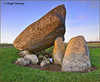 Ireland - Co.Carlow - Brownshill Dolmen - Winter sunlight (Hugh Rooney 34) Tags: ireland republicofireland leinster carlow browneshilldolmen dolmen megalith megalithic portaltombs tombs ancient burialplaces capstone bc landscape monument history grass stones