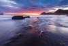 Sunset in the Bay of Portman (Juan Galián) Tags: atardecer paisaje playa landscape largaexposición longexposure litoral sunset spain water